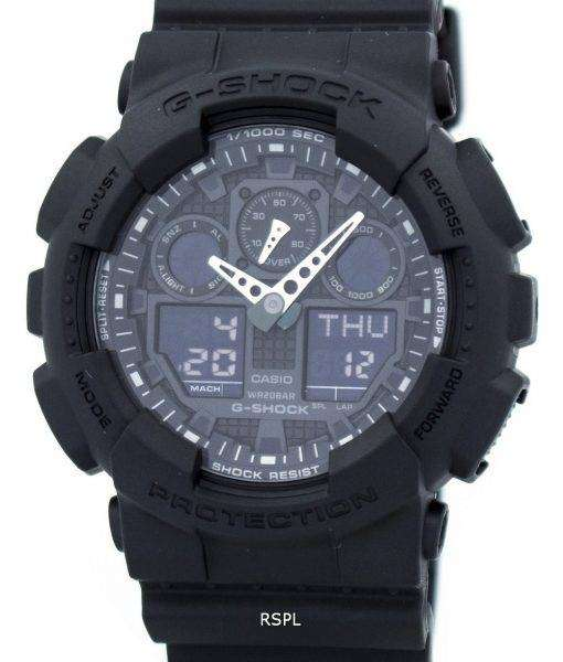 Casio G-Shock Military Matte Black GA-100-1A1 Mens Watch 1