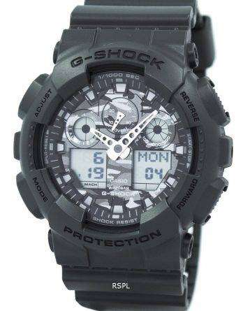 Casio G-Shock Camouflage Series Analog Digital GA-100CF-8A Mens Watch