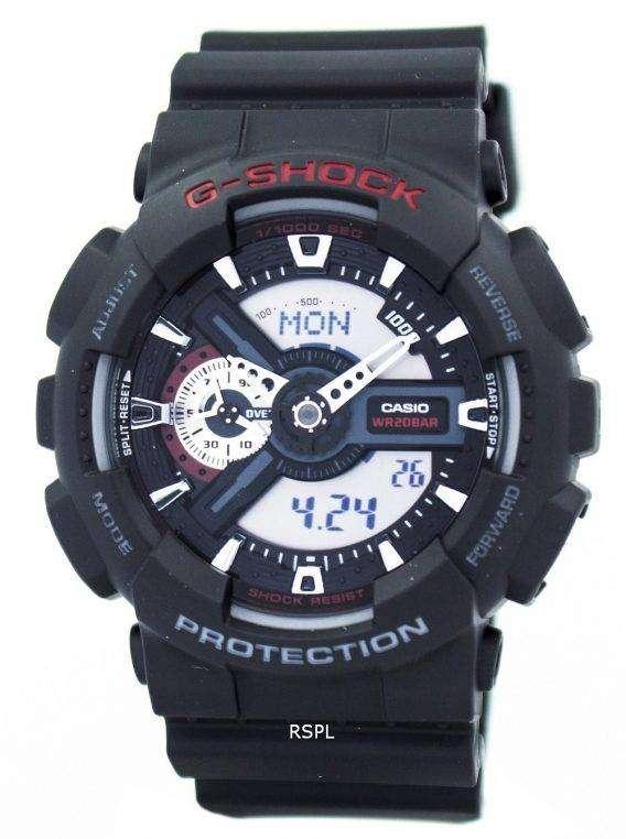 Casio G-Shock World Time Analog Digital GA-110-1A GA110 Mens Watch 1