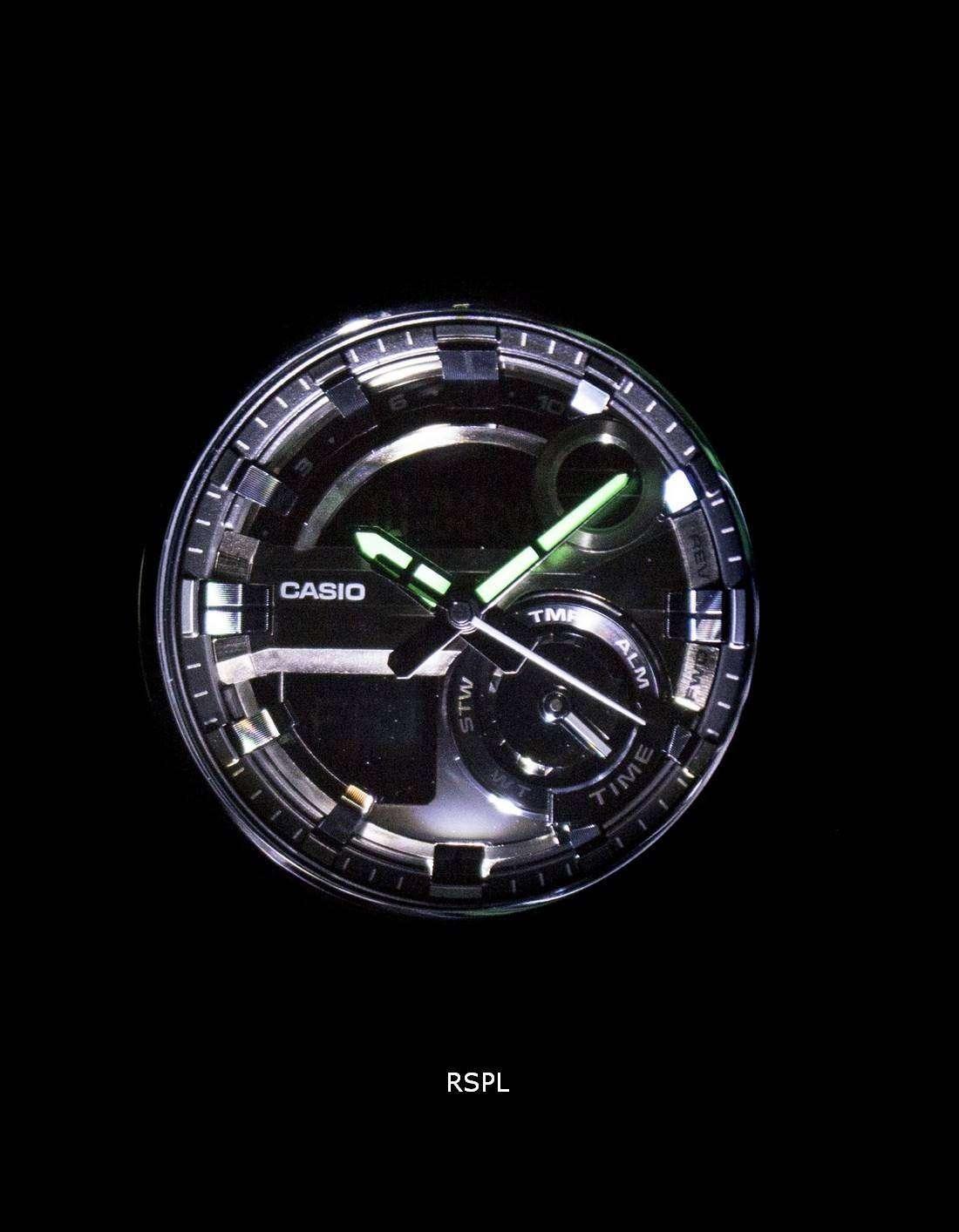 Casio G-Shock G-Steel Analog-Digital World Time GST-210M-1A Men's Watch