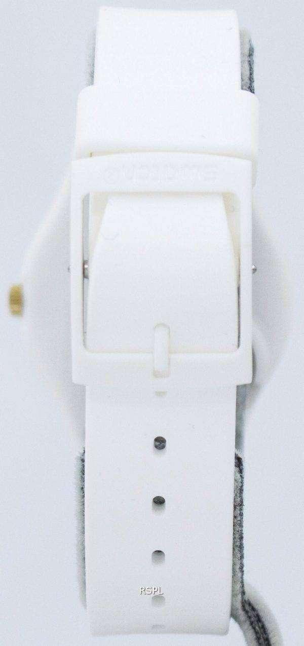 Swatch Originals White Bishop Quartz GW164 Unisex Watch