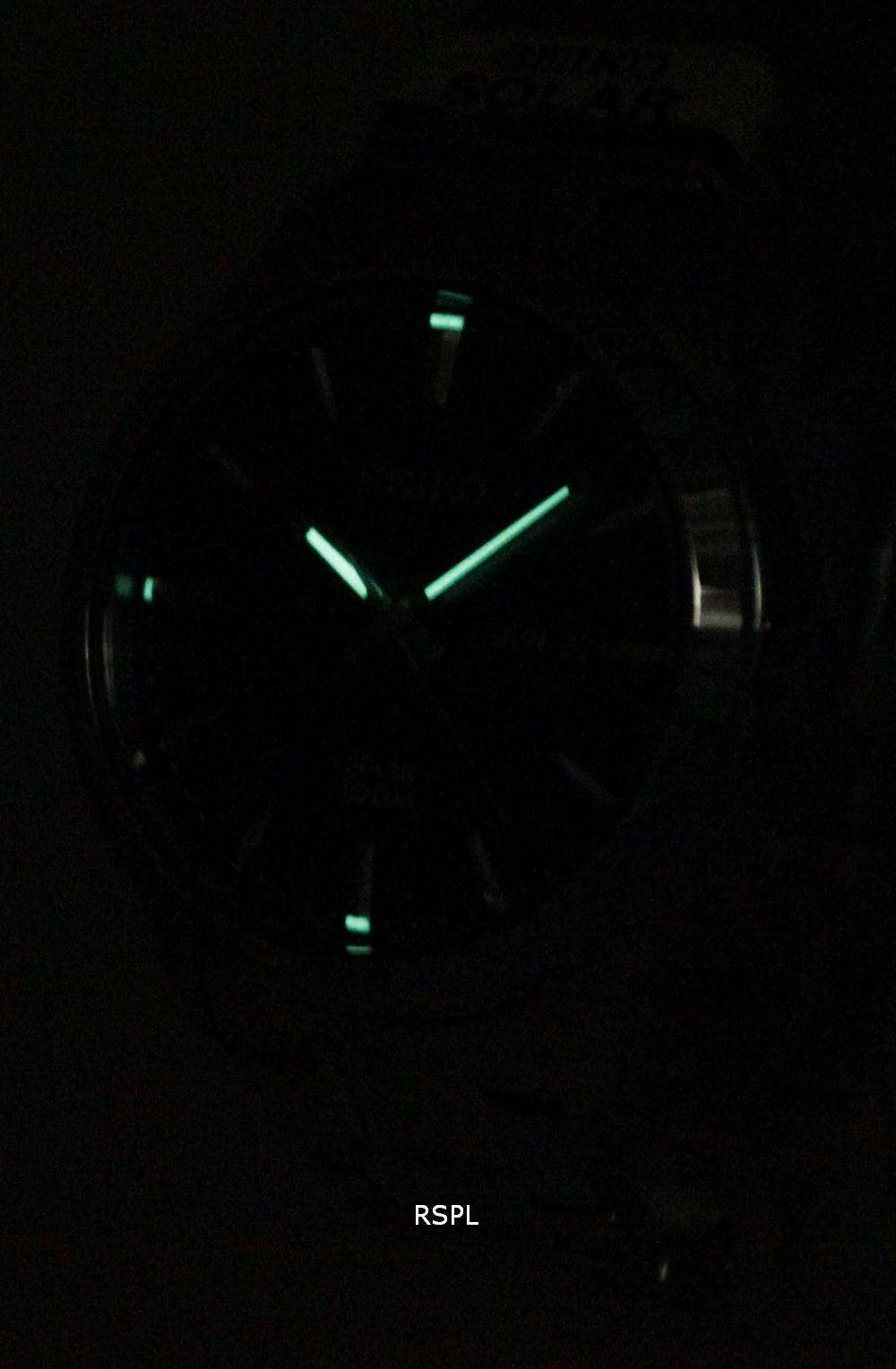 Seiko Solar Powered 100M SNE363P1 SNE363P SNE363 Mens Watch