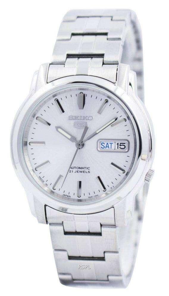 Seiko 5 Automatic 21 Jewels Japan Made SNKK65 SNKK65J1 SNKK65J Mens Watch 1