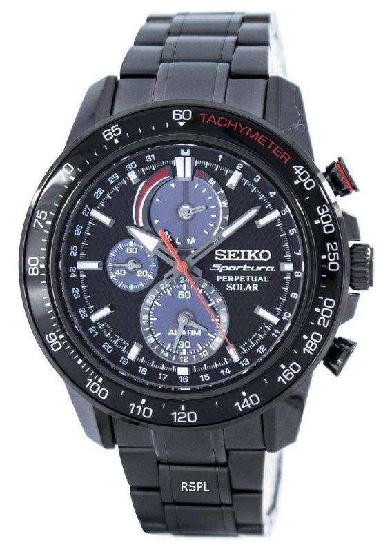 Seiko Sportura Perpetual Solar Multi-Function SSC427 SSC427P1 SSC427P Men's Watch 1