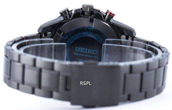 Seiko Sportura Perpetual Solar Multi-Function SSC427 SSC427P1 SSC427P Men's Watch