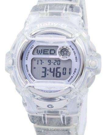 Casio Baby-G Shock Resistant Digital World Time Quartz BG-169R-7E Women's Watch