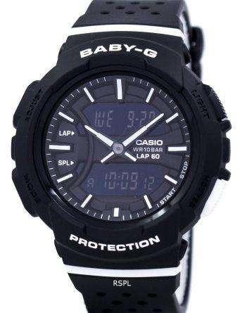 Casio Baby-G Shock Resistant Dual Time Analog Digital BGA-240-1A1 Women's Watch