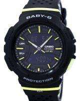Casio Baby-G Shock Resistant Dual Time Analog Digital BGA-240-1A2 Women's Watch