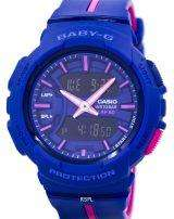 Casio Baby-G Shock Resistant Dual Time Analog Digital BGA-240L-2A1 Women's Watch