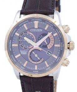 Citizen Eco-Drive Chronograph Perpetual Calendar Alarm BL8148-11H Men's Watch