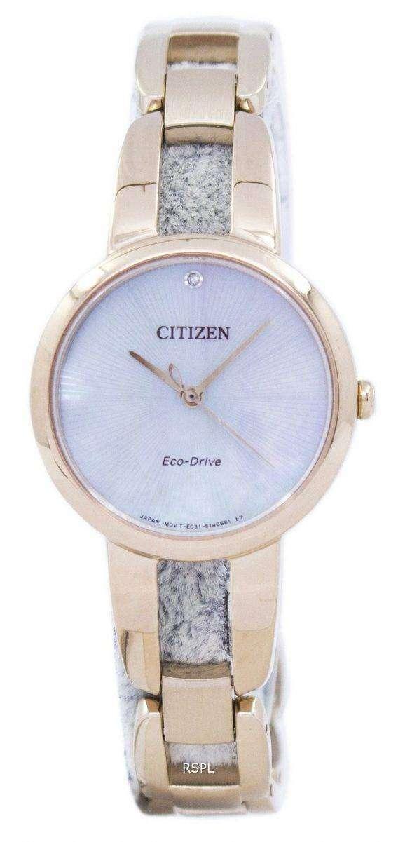 Citizen Eco-Drive EM0433-87D Women's Watch 1
