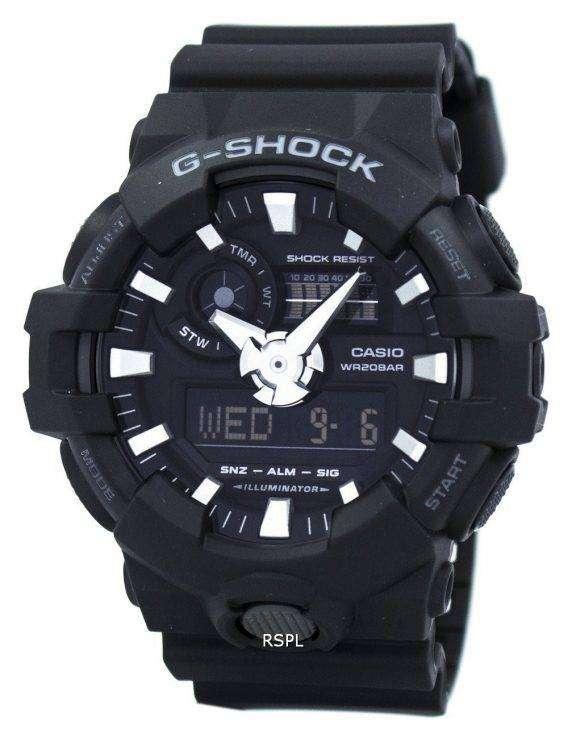 Casio G-Shock Analog Digital 200M GA-700-1B Men's Watch 1