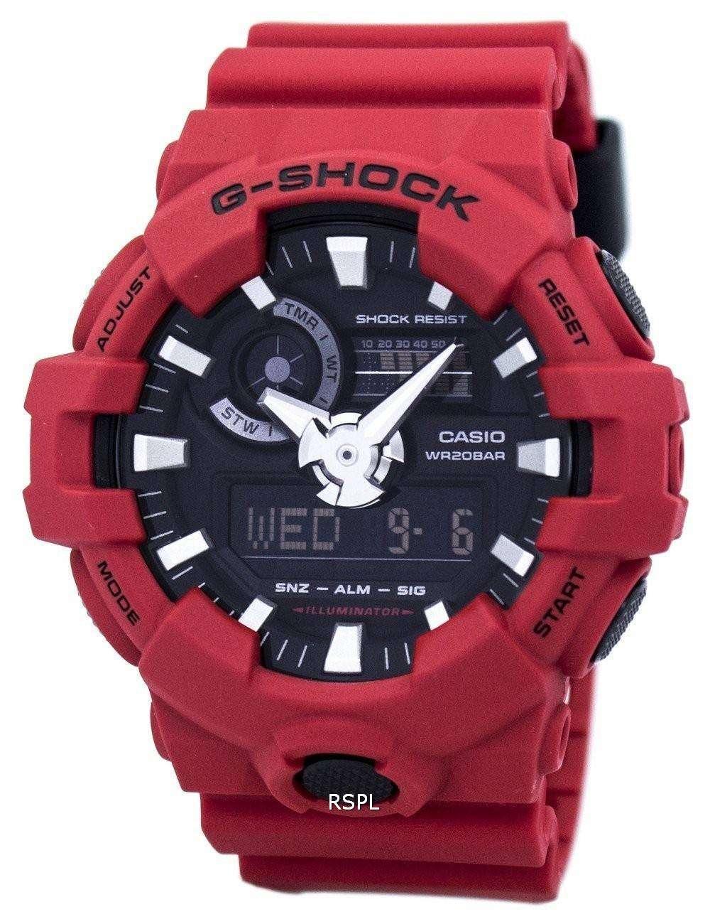 casio g shock analog digital 200m ga 700 4a men 39 s watch downunderwatches. Black Bedroom Furniture Sets. Home Design Ideas