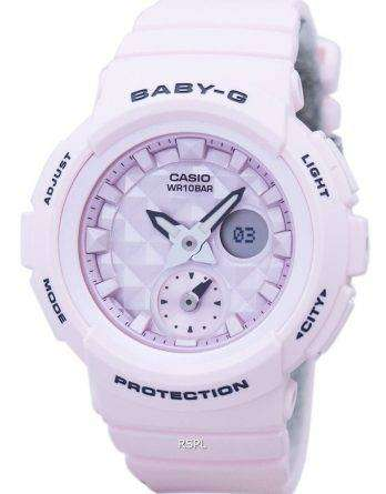 f96bb9cb22d4c Casio Baby-G Shock Resistant World Time Analog Digital BGA-190BE-4A Women s  ...