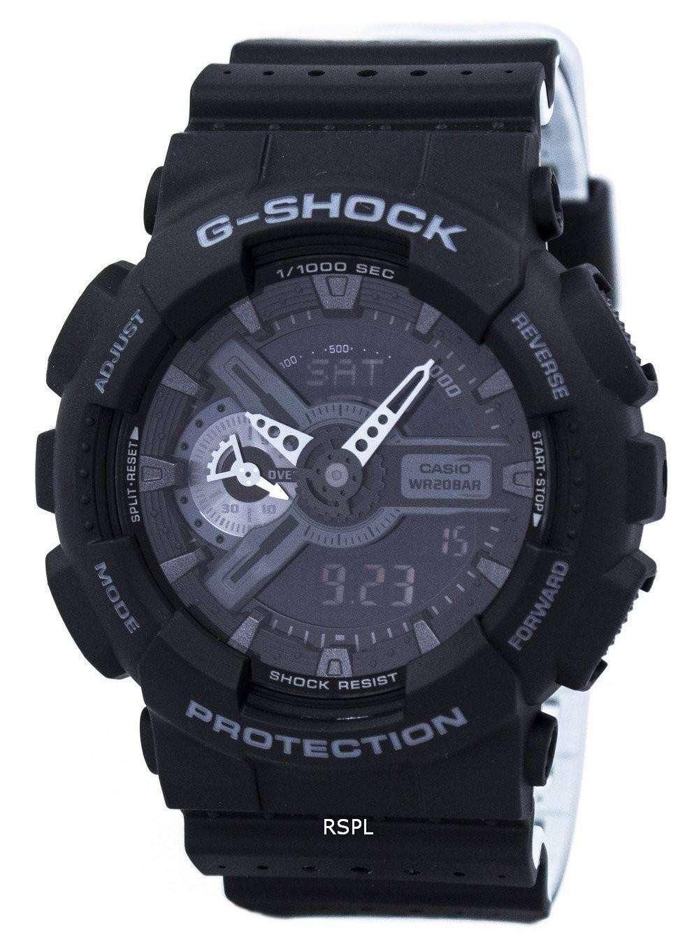 casio g shock analog digital shock resistant 200m ga 110lp 1a men 39 s watch downunderwatches. Black Bedroom Furniture Sets. Home Design Ideas