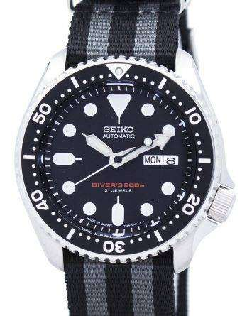Seiko Automatic Diver's NATO Strap 200M SKX007J1-NATO1 Men's Watch
