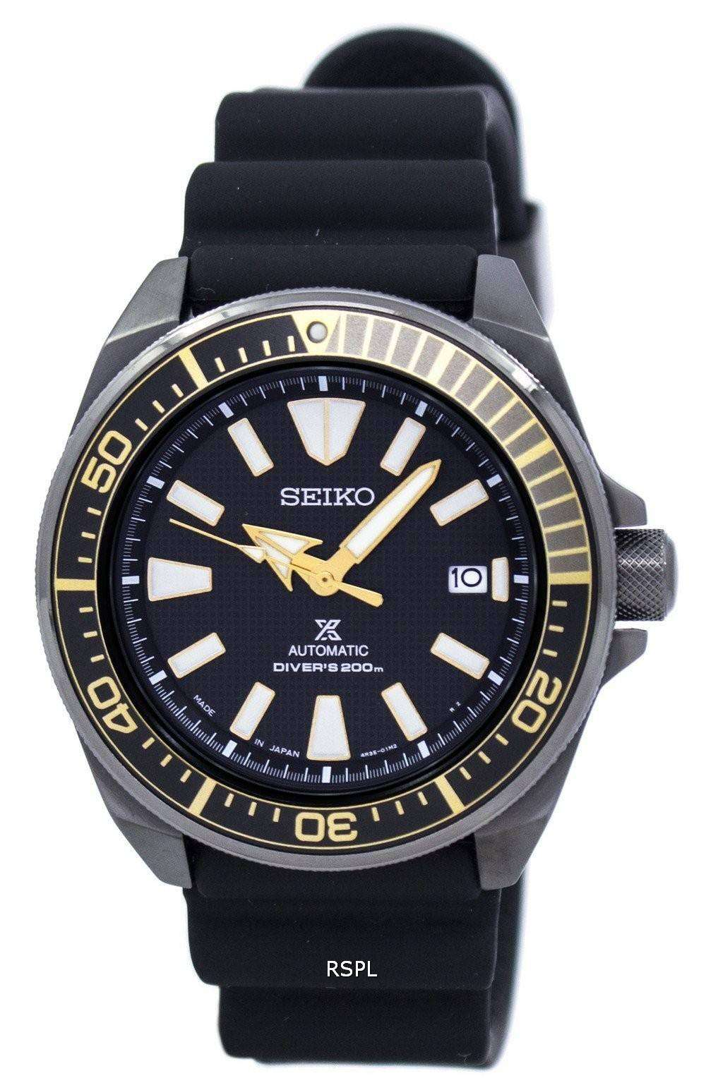 Seiko prospex automatic scuba divers 200m japan made srpb55 srpb55j1 srpb55j men 39 s watch for Watches of japan