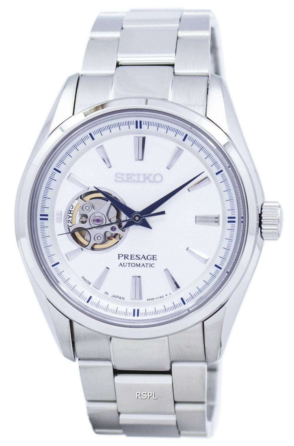Seiko presage automatic japan made ssa355 ssa355j1 ssa355j men 39 s watch downunderwatches for Watches japan