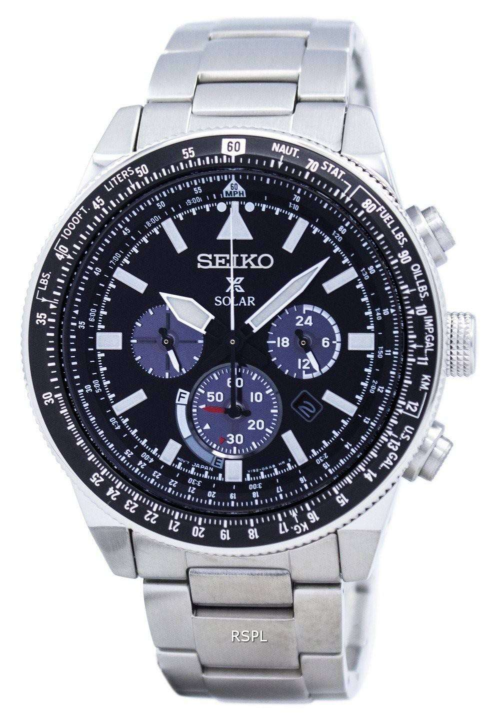 seiko prospex solar chronograph ssc607 ssc607p1 ssc607p. Black Bedroom Furniture Sets. Home Design Ideas