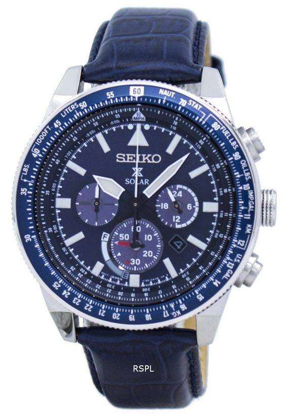 Seiko Prospex Solar Chronograph SSC609 SSC609P1 SSC609P Men's Watch 1