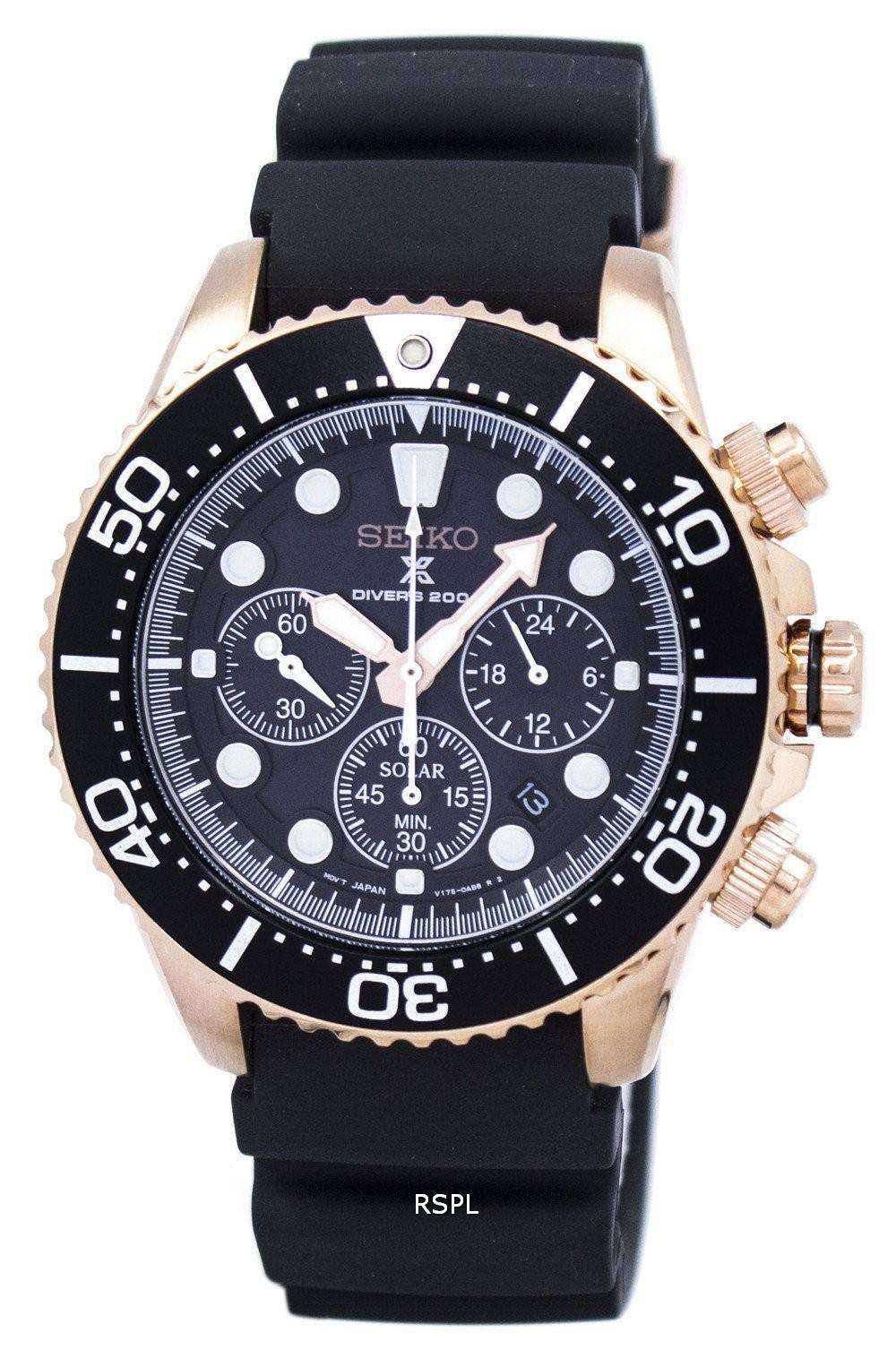 seiko prospex diver 39 s solar chronograph ssc618 ssc618p1. Black Bedroom Furniture Sets. Home Design Ideas