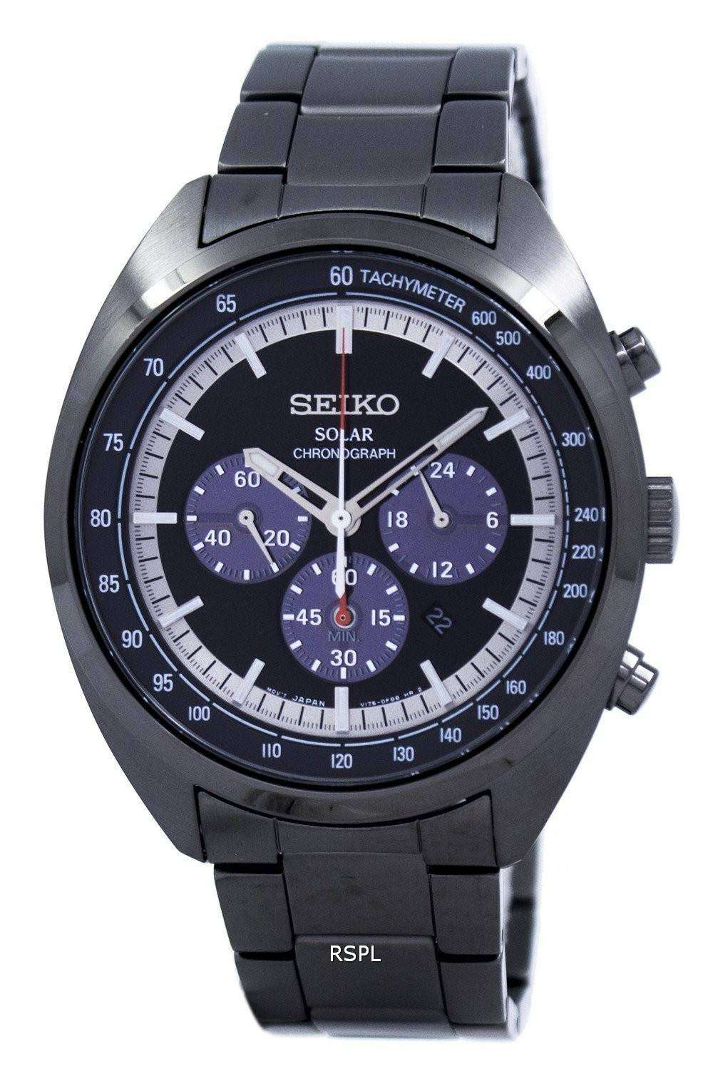 seiko solar chronograph tachymeter ssc623 ssc623p1 ssc623p. Black Bedroom Furniture Sets. Home Design Ideas