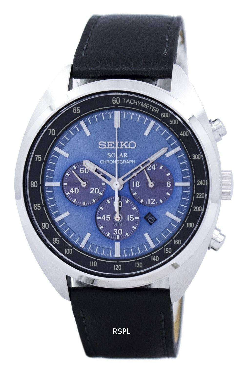 seiko solar chronograph tachymeter ssc625 ssc625p1 ssc625p. Black Bedroom Furniture Sets. Home Design Ideas