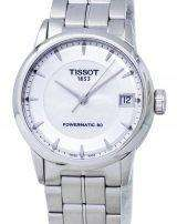 Tissot Luxury Powermatic 80 T086.207.11.111.00 T0862071111100 Women's Watch