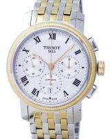 Tissot T-Classic Bridgeport Chronograph Automatic T097.427.22.033.00 T0974272203300 Men's Watch