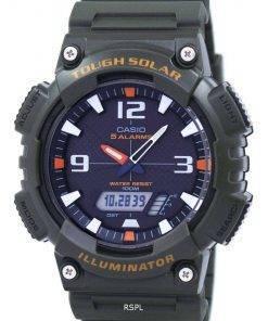 Casio Illuminator Tough Solar Alarm Analog Digital AQ-S810W-3AV Men's Watch