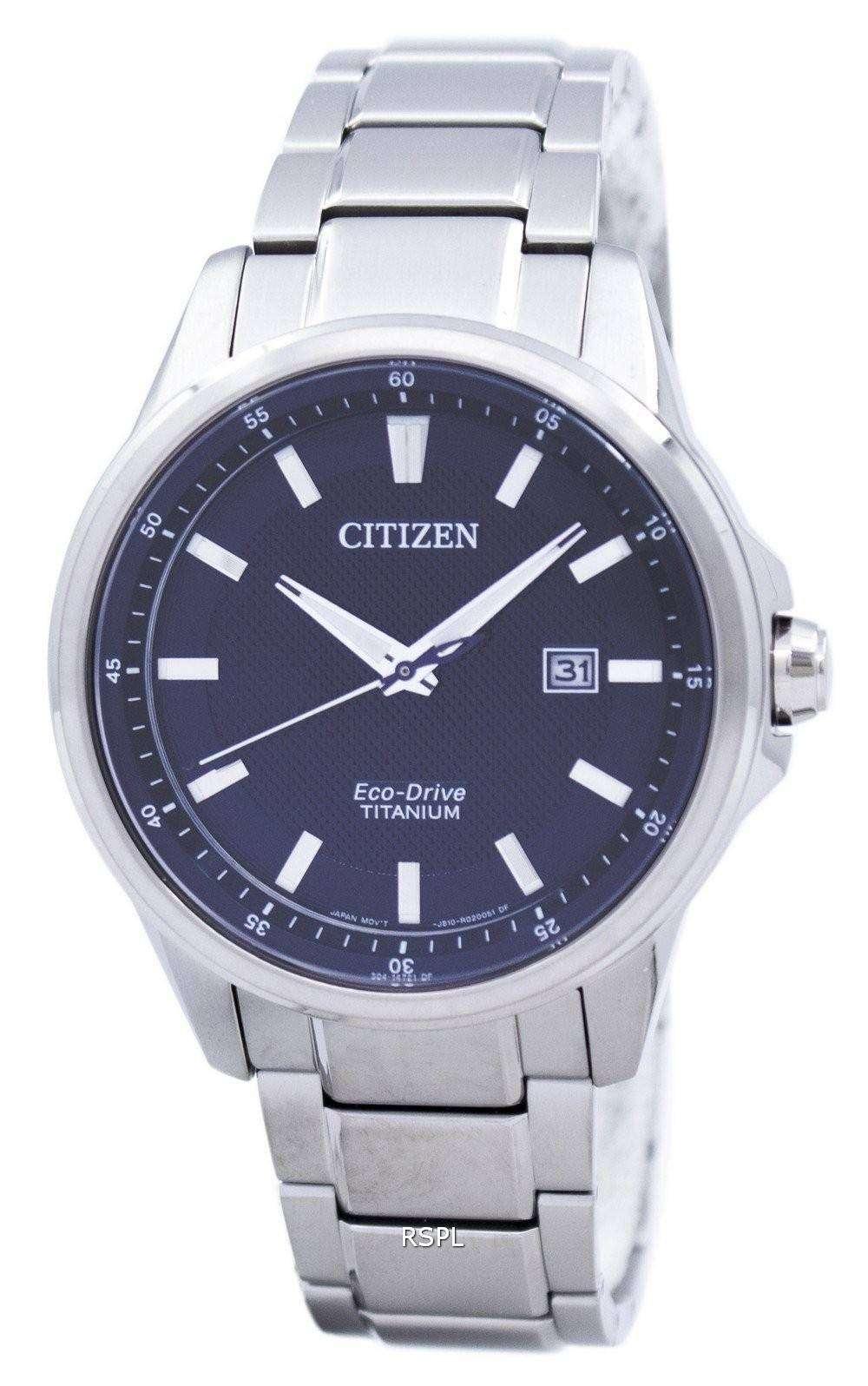 Citizen Eco-Drive Titanium Analog AW1490-84E Men's Watch ...