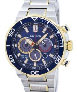 Citizen Eco-Drive Chronograph Analog 200M CA4254-53L Men's Watch