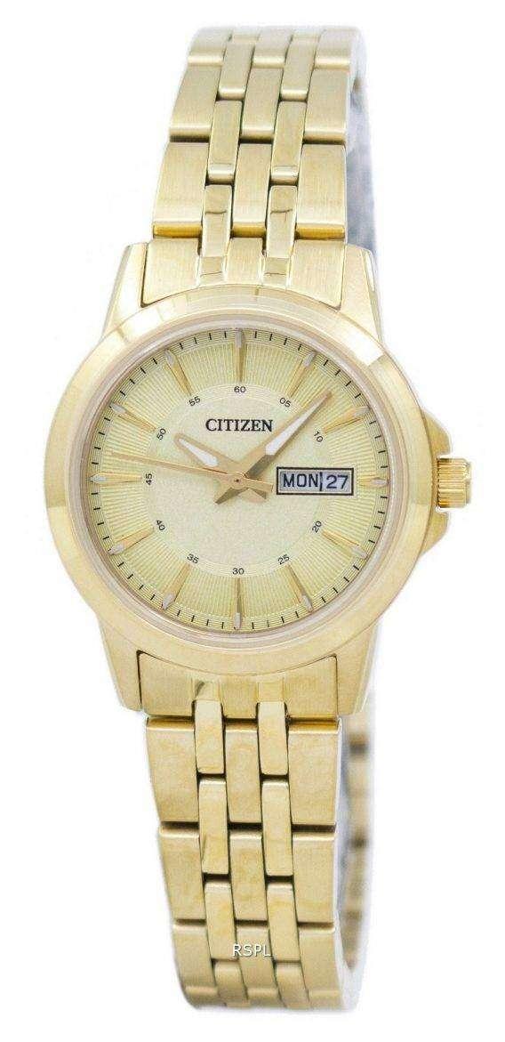 Citizen Quartz Analog EQ0603-59P Women's Watch 1