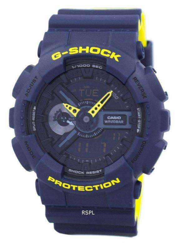 Casio G-Shock Special Color Shock Resistant Analog Digital GA-110LN-2A Men's Watch 1