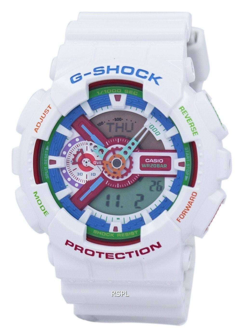 casio g shock shock resistant analog digital 200m ga 110mc 7a men 39 s watch downunderwatches. Black Bedroom Furniture Sets. Home Design Ideas