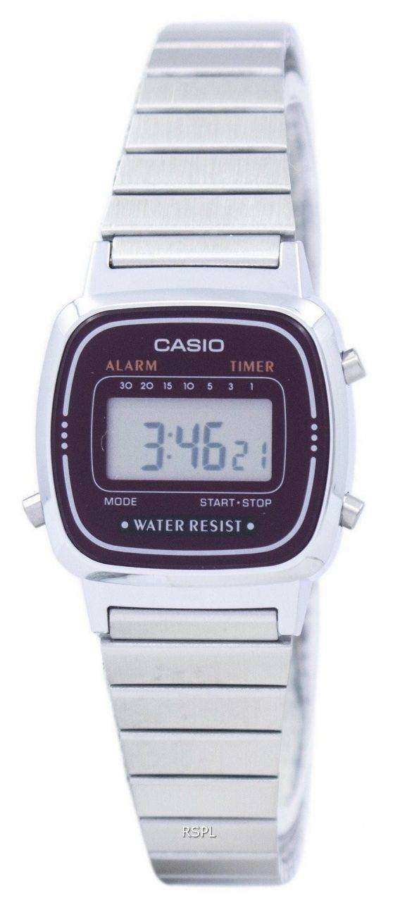 Casio Alarm Digital LA-670WA-4D Women's Watch 1