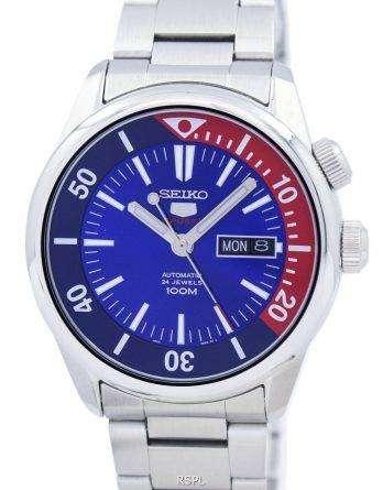 Seiko 5 Sports Automatic 24 Jewels SRPB25 SRPB25K1 SRPB25K Men's Watch