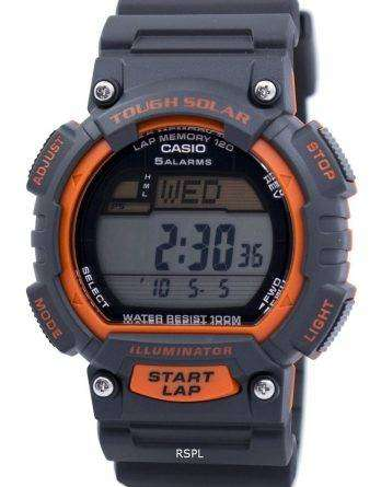 Casio Tough Solar Illuminator Lap Memory Alarm Digital STL-S100H-4AV Men's Watch