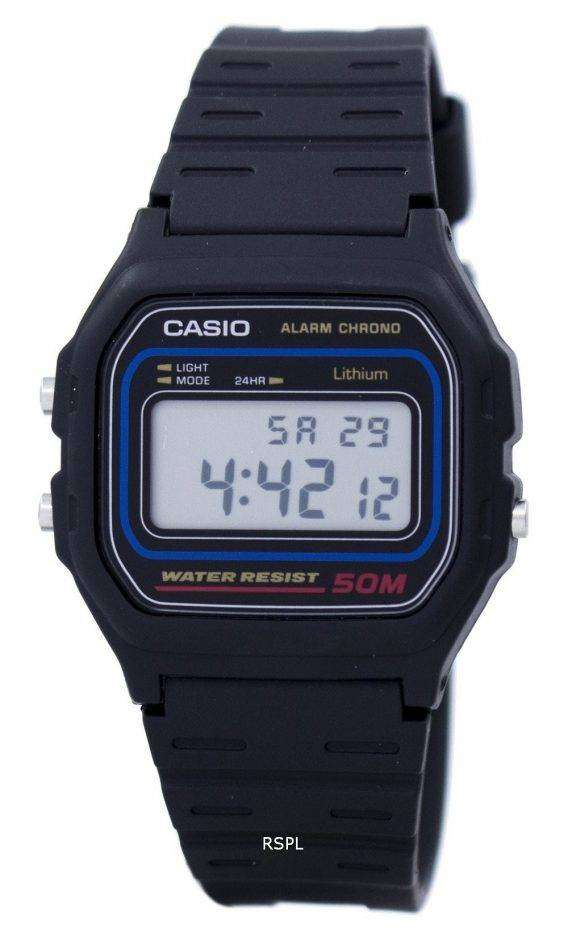 Casio Alarm Chrono Digital W-59-1VQ Men's Watch