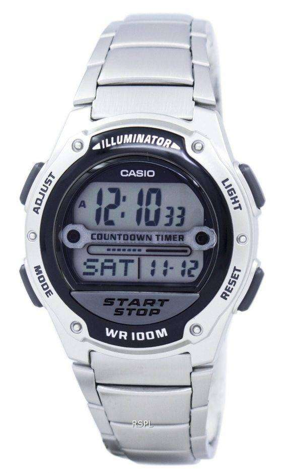 Casio Illuminator Countdown Timer Digital W-756D-1AV Men's Watch 1