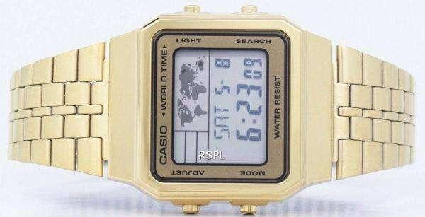 Casio Alarm World Time Digital A500WGA-9DF Men's Watch