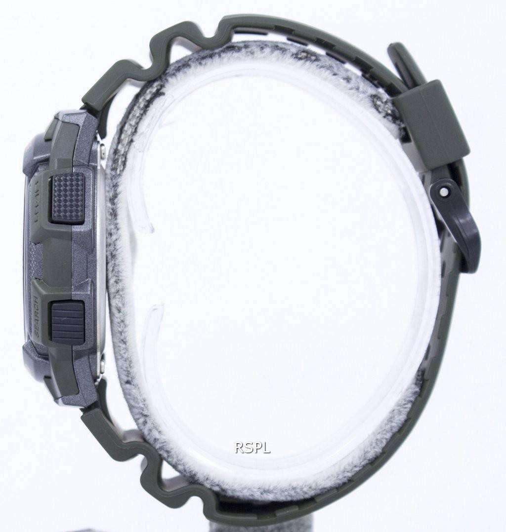 Casio Illuminator World Time Alarm Digital Ae 1000w 3av Mens Watch 1a Original