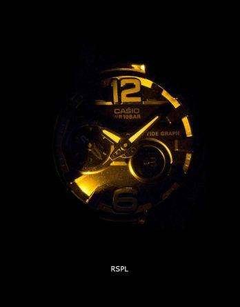 Casio Baby-G Shock Resistant Tide Graph Analog Digital BGA-180-1B Women's Watch