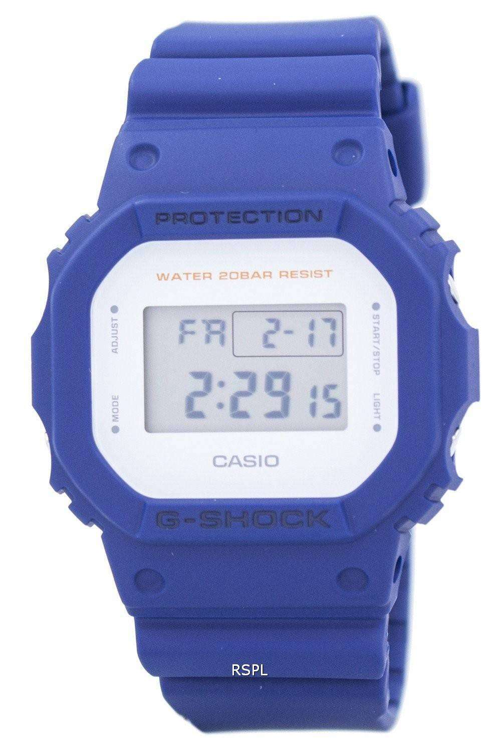 Casio G Shock Digital Resistant Alarm Dw 5600m 2 Mens Watch 6900nb 7dr