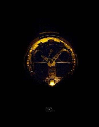 Casio G-Shock Analog Digital Shock Resistant 200M GA-100BBN-1A Men's Watch