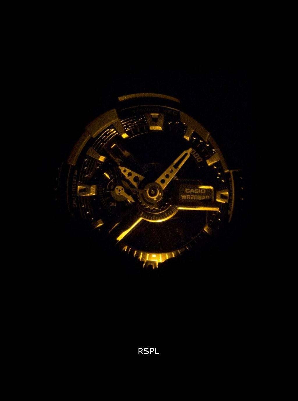 Casio G-Shock Special Color Shock Resistant Analog Digital GA-110HR-1A Men's Watch