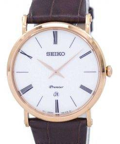 Seiko Premier Quartz SKP398 SKP398P1 SKP398P Men's Watch