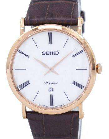 Seiko Premier Quartz SKP398 SKP398P1 SKP398P Men's Watch