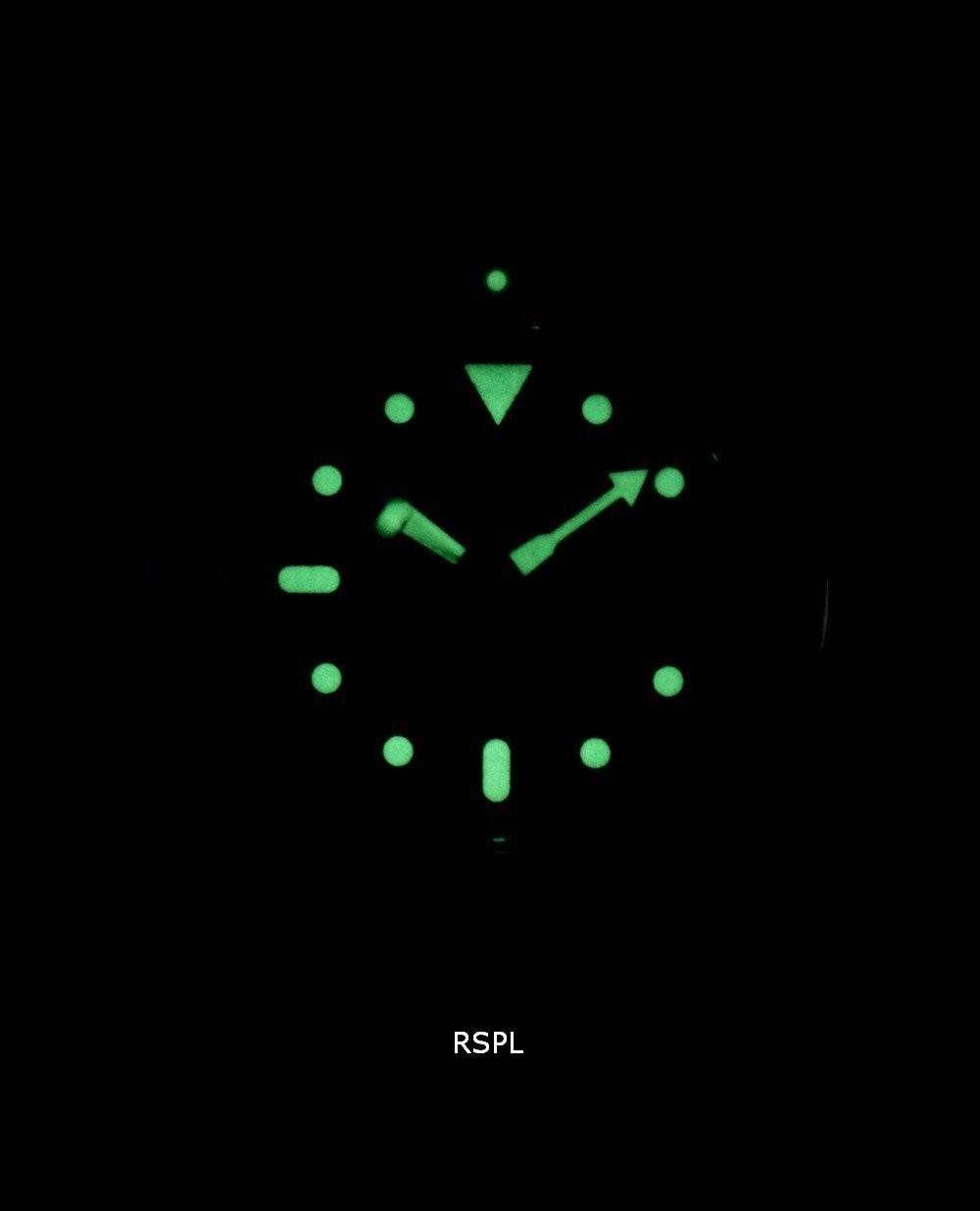 Seiko Automatic Diver's Ratio Dark Brown Leather SKX007J1-LS11 200M Men's Watch