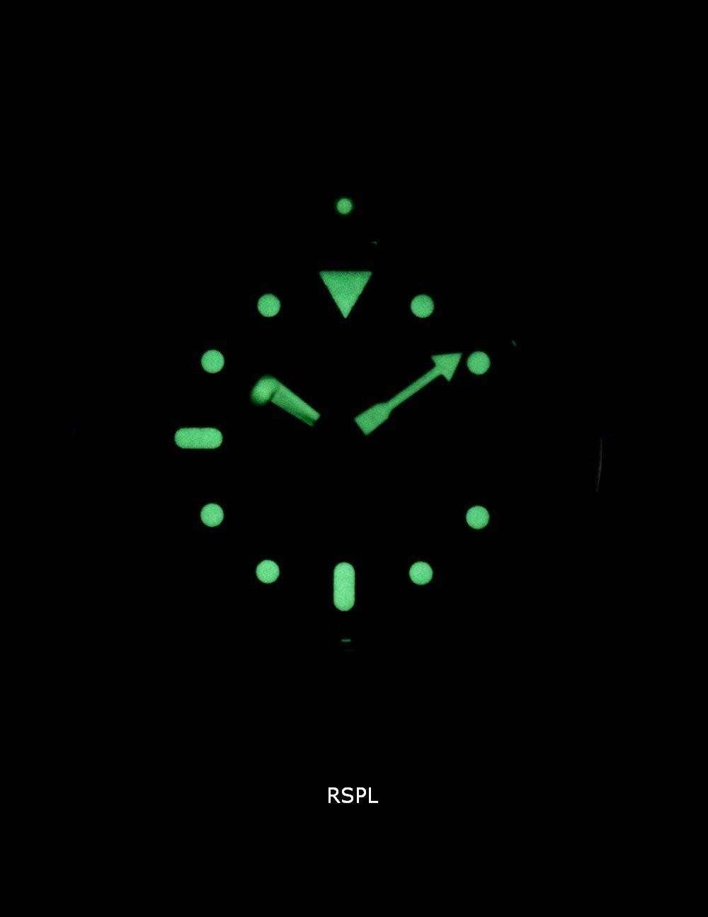 Seiko Automatic Diver's Ratio Dark Brown Leather SKX009J1-LS11 200M Men's Watch